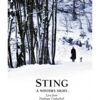A WINTERS NIGHT ... LIVE FROM DURHAM CATHEDRAL - STING [DVD]